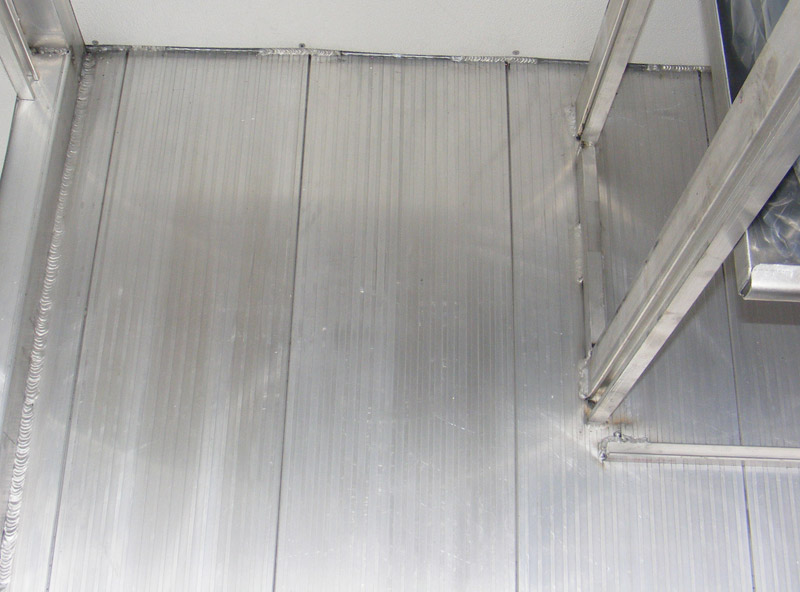 Aluminum Snap Together Floor Planks